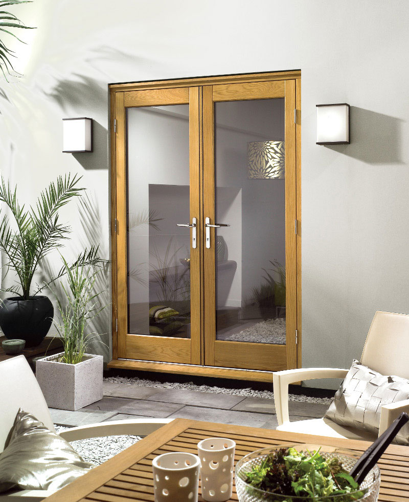 Premdor oak french doors doors for Oak french doors external