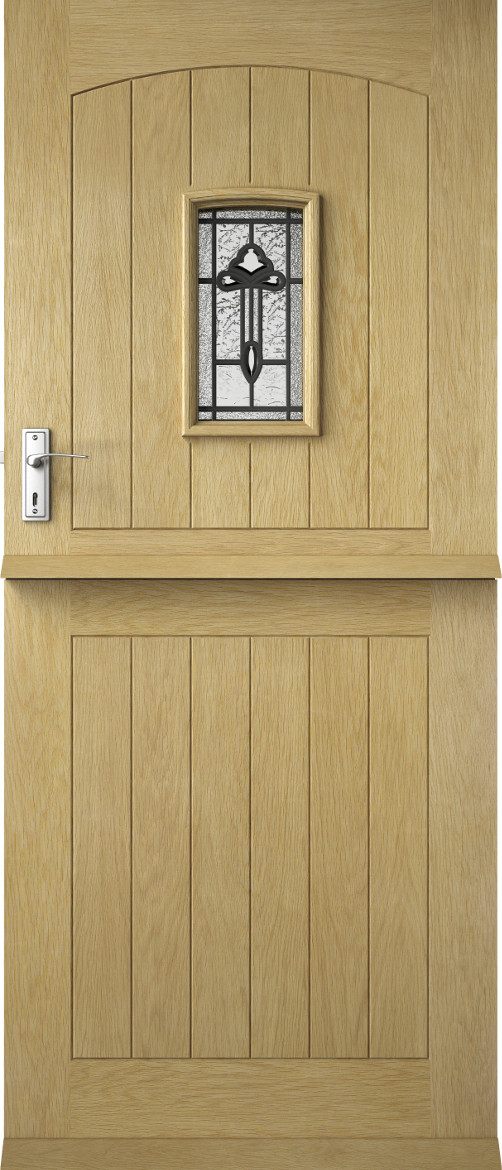 Premdor External Contemporary Croft Solid Stable Triple Glazed Doors