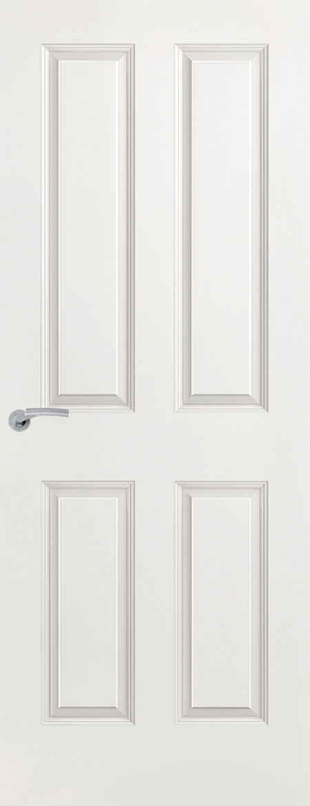 Premdor doors premdor 13636 626 x 2040 x 40 mm 4 panel for Moulded panel doors