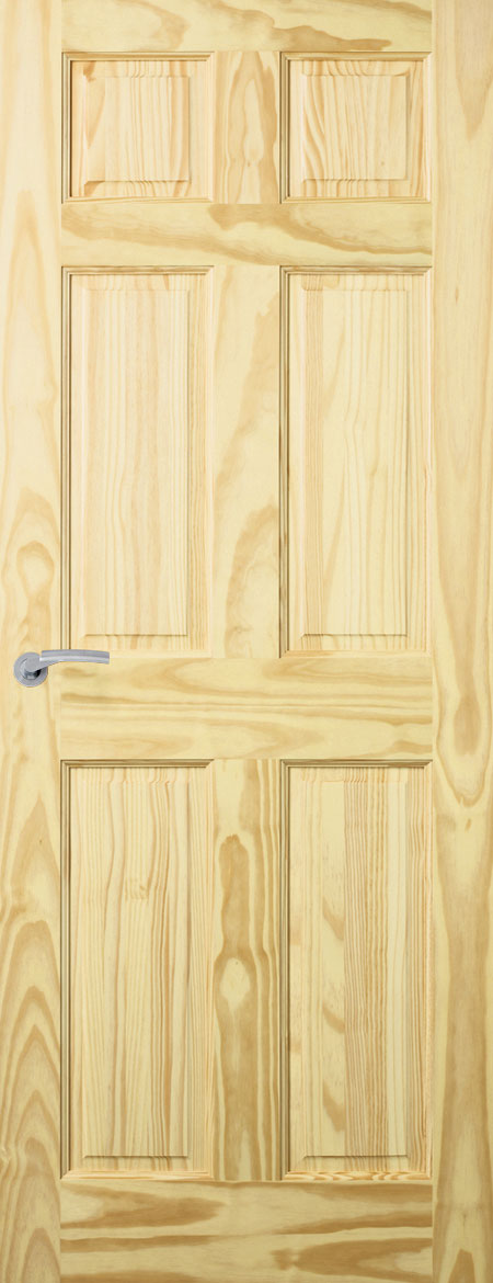 Premdor Clear Pine Colonial 6 Panel Doors