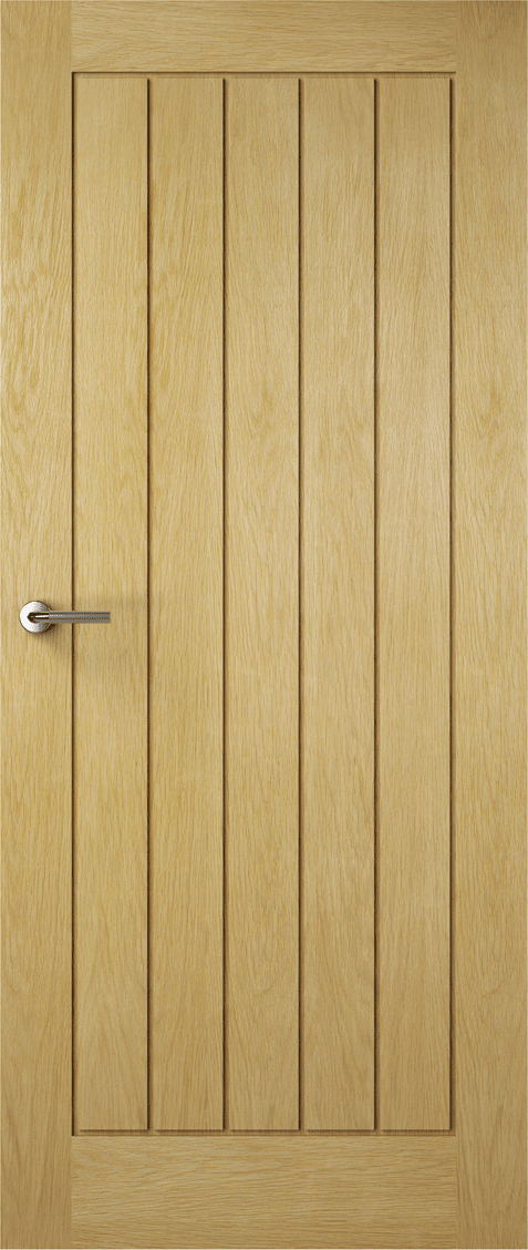 Premdor Internal Contemporary Oak Croft Solid Doors