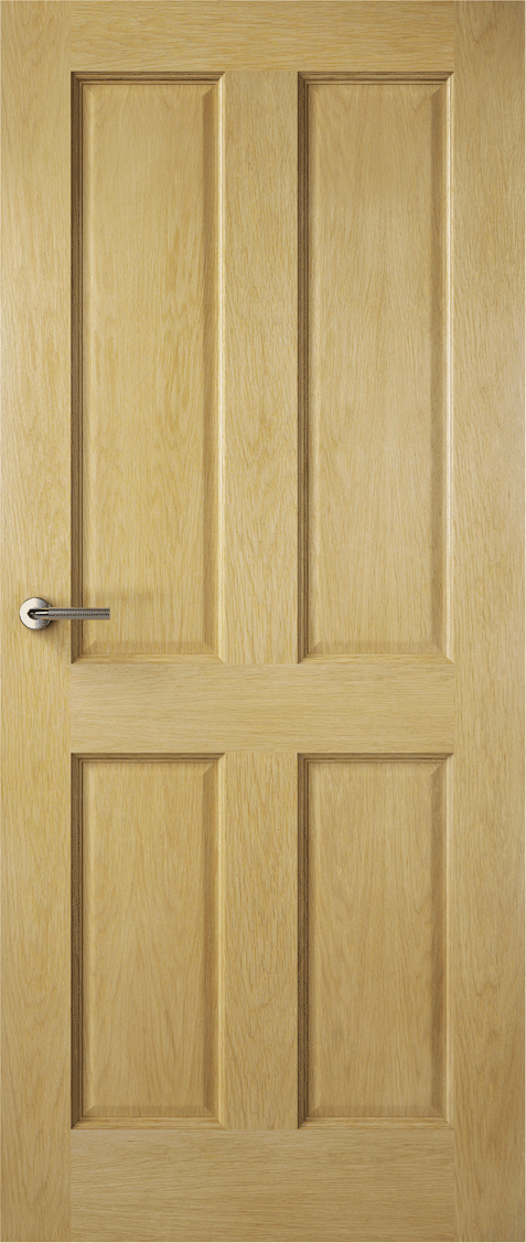 Premdor Traditional 4 Panel Oak Doors