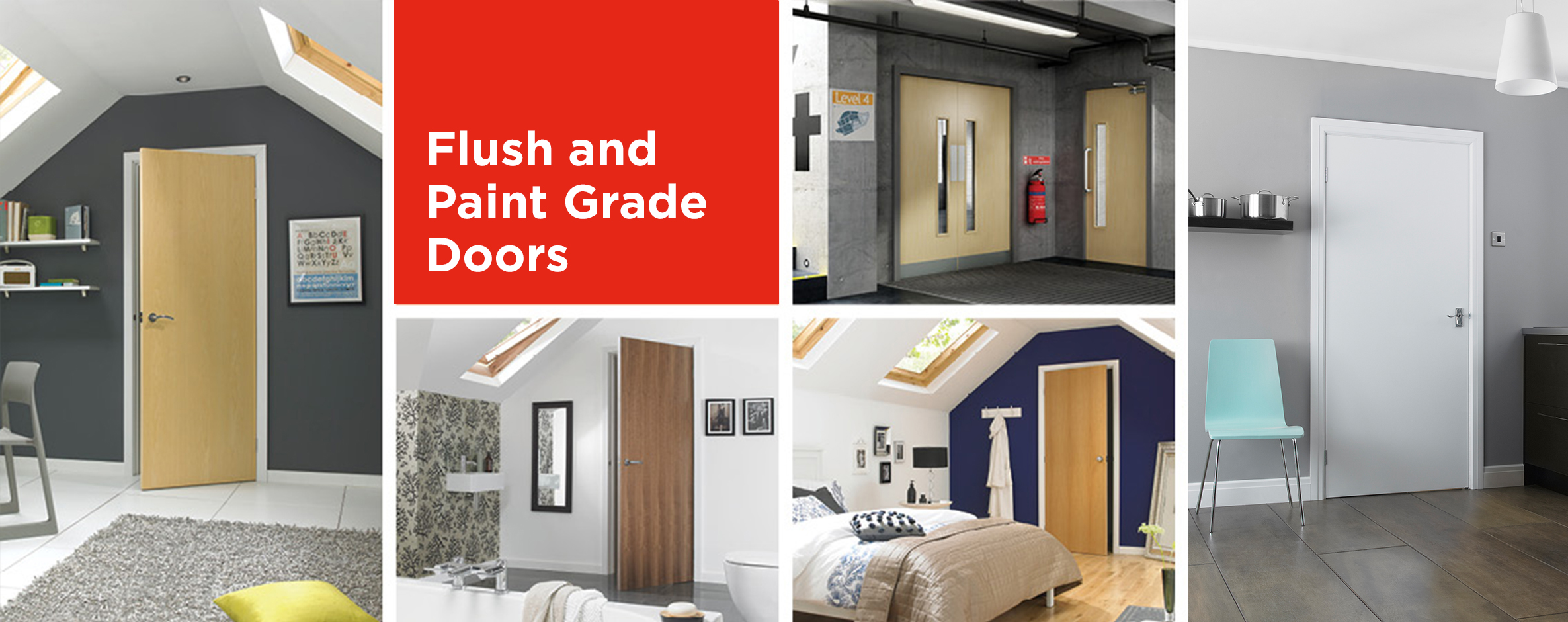 Flush and Paint Grade Doors